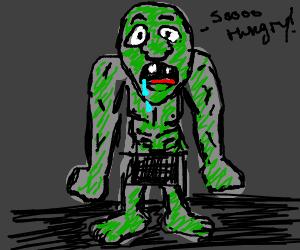 Drooling Malnourished Troll