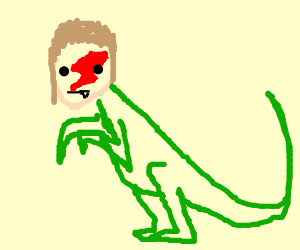 David bowie velociraptor