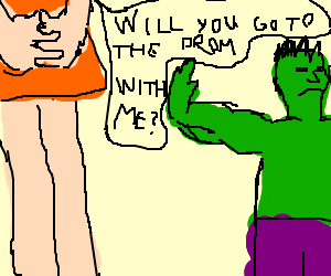 The 50 Foot Woman Is Rejected By Hulk