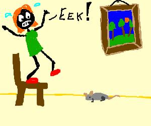 Eek, a mouse!