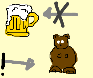 "That's not a ""beer,"" that's a BEAR!"