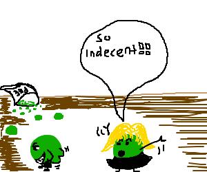 indecent pee