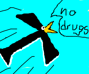 T-Bird says no to drugs