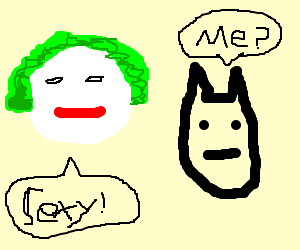 the joker sexually harasses batman
