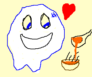 bubble ghost loves soup