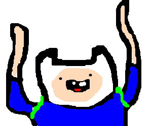 what time is it? adventure time! YAY!!!!