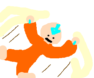 Avatar aang flying