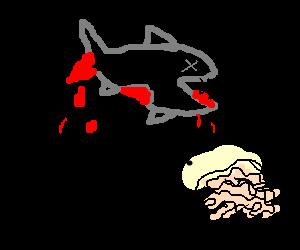 Zombie fish likes brains