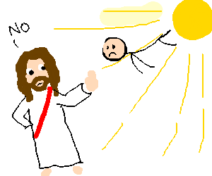 jesus dont want me for a sunbeam