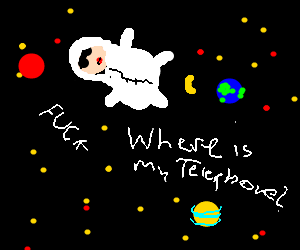 lady gaga in space
