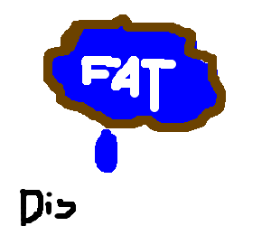 Fat lake fan cries over disembowelment