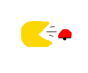 pacman ingested a pokemon battle