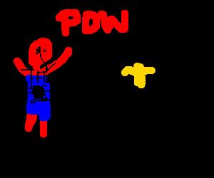Spiderman and Batman fight crime!