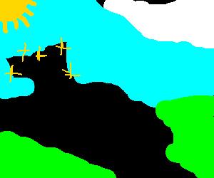 Dinosaur train-track with fairy