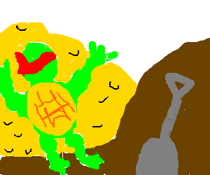 raphael finds buried gold