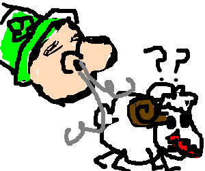 leprechaun mistakes confused sheep for cocaine
