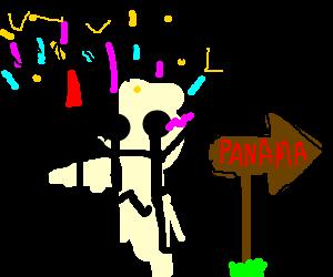 Come on Vamanos! Everybody lets go...Panama!