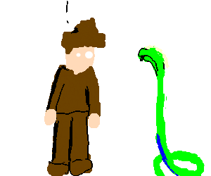 I hate snakes.