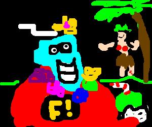 Freakazoid goes to Hawaii