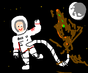 Astronaut feels better after bout of diarrhea.