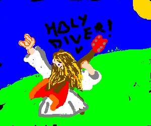 Jesus loves heavy metal