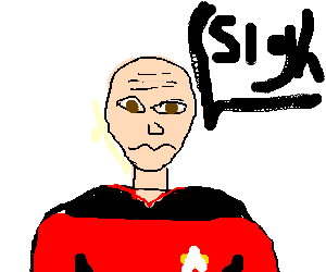 Jean Luc Picard is disappointed