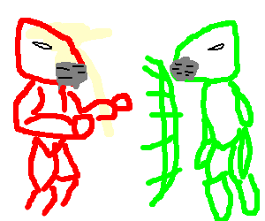 Cyrax vs Sector