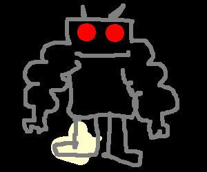 Robot on l33  steroids