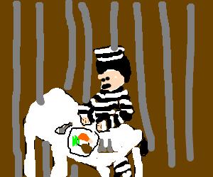 A prisoner's last meal