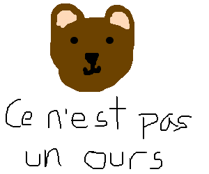 This bear is not a bear.