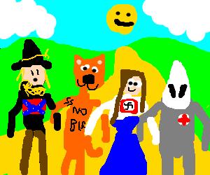 Racist wizard of oz