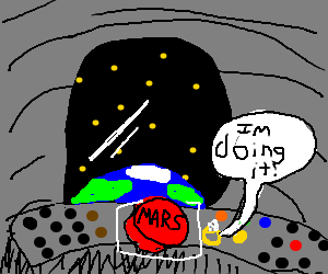 Diamond ring destination: Mars