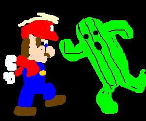 Italian Man vs Cactuar