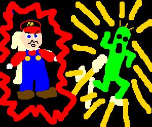 Mario vs Cactuar