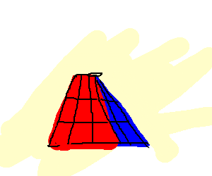 a strange rubik's cube