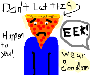 a very bad disease! Pizza-face!