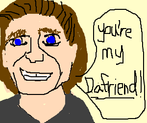 Willem Dafoe and Willem Dafriend