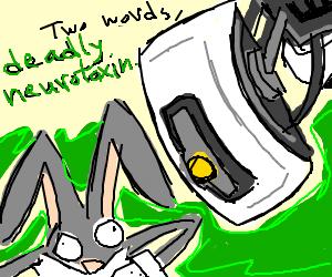 GlaDOS vs. Bugs Bunny