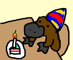 platypus birthday party