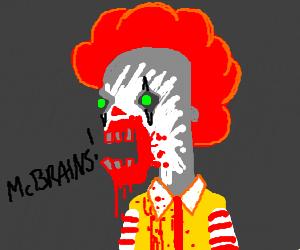 mcdonalds zombie