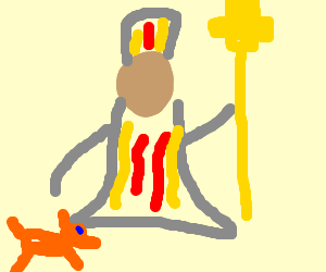 The Pope Watches Fox