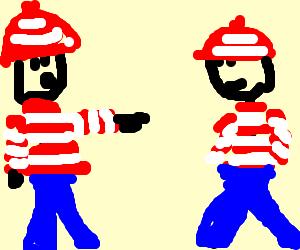 "Waldo ""finds"" himself."