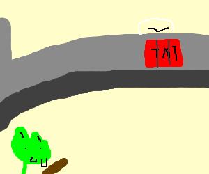 troll's bridge gets trolled