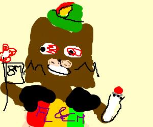 hippie pedobear