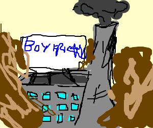 Mudslide overwhelms boyfriend factory