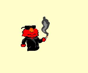 Badass Biker Elmo