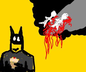 Batman's parents are dead (but hehascake