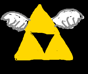 Flying Triforce