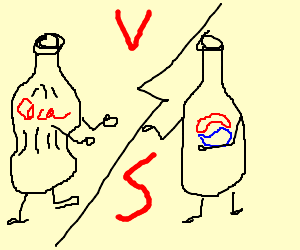 Coke fights Pepsi