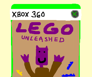 new lego game for purple heads